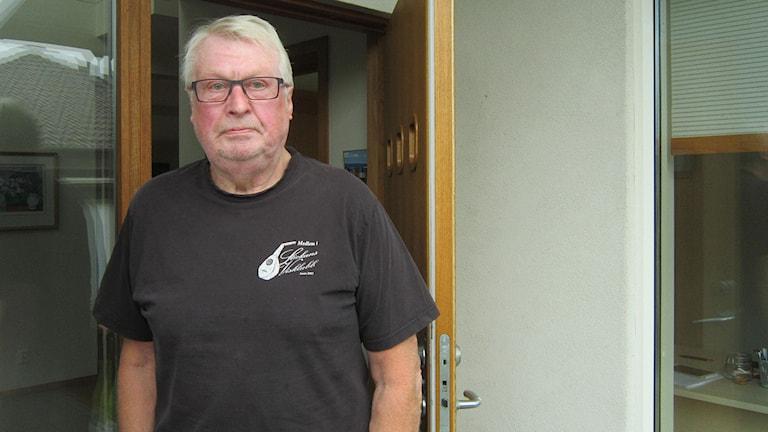 Jörgen Andersson, mångårig s-politiker och före detta minister. foto: Göran Frost/SR Halland