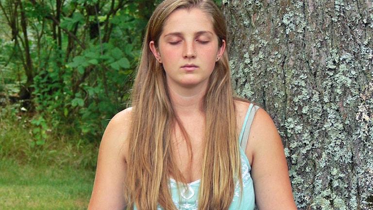 Så mediterar du. Foto: Marc Hamel/TT