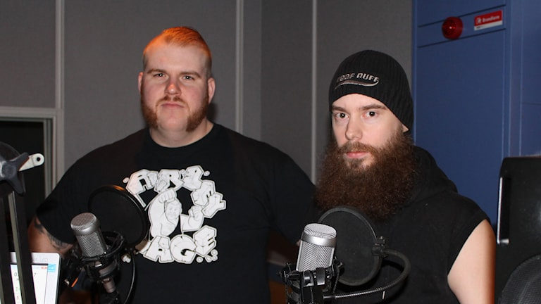 Mattias Dahl och Leeloo Demorhne. Foto: Per Qvarnström/Sveriges Radio