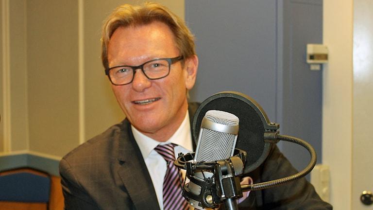 Michael Svensson (M) föreslår att man slopar lärarnas sommarlov. Foto: Sveriges Radio