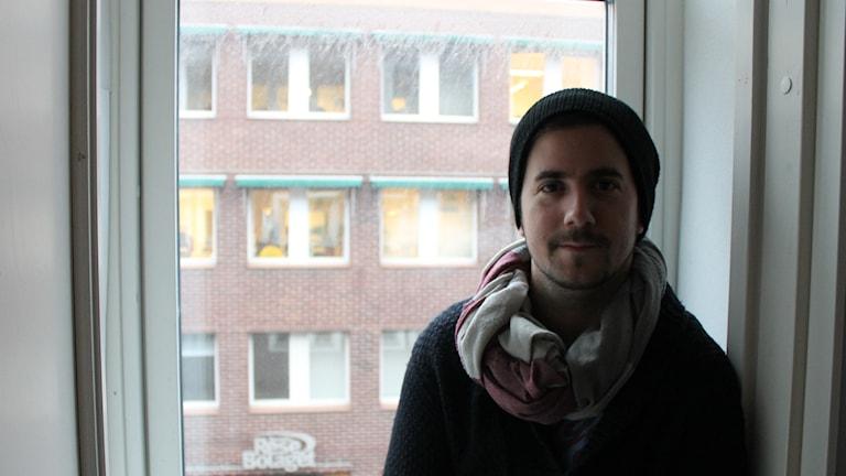 Niklas Musco. Foto: Per Qvarnström/Sveriges Radio
