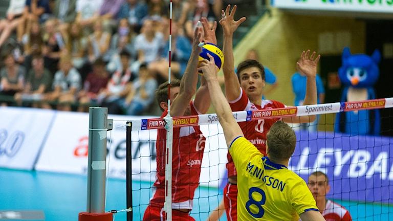 Marcus Nilsson. Foto: Svenska Volleybollförbundet