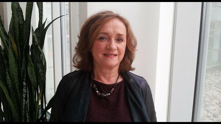 Ingela Skärsäter, professor i omvårdnad vid Halmstad högskola. Foto: Marie Sjöberg / Sveriges Radio