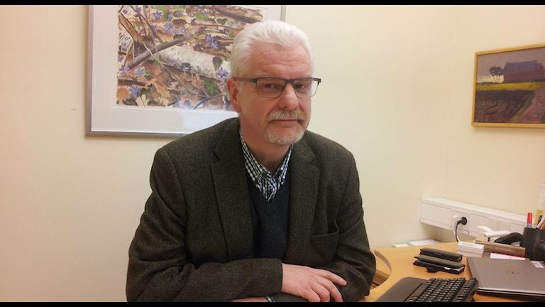 Kjell Ivarsson är ny affärsområdeschef i södra Region Halland. Foto Marie Sjöberg / Sveriges Radio