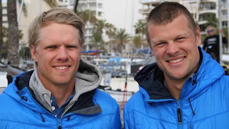 Victor Bergström och Victor Västernäs.