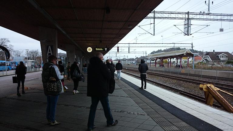 Kungsbacka station Foto: Jonna Burén / Sveriges Radi