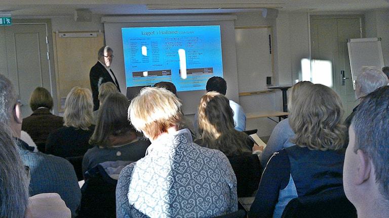 Workshop i Halmstad. Foto: Muhamed Ferhatovic SR Halland