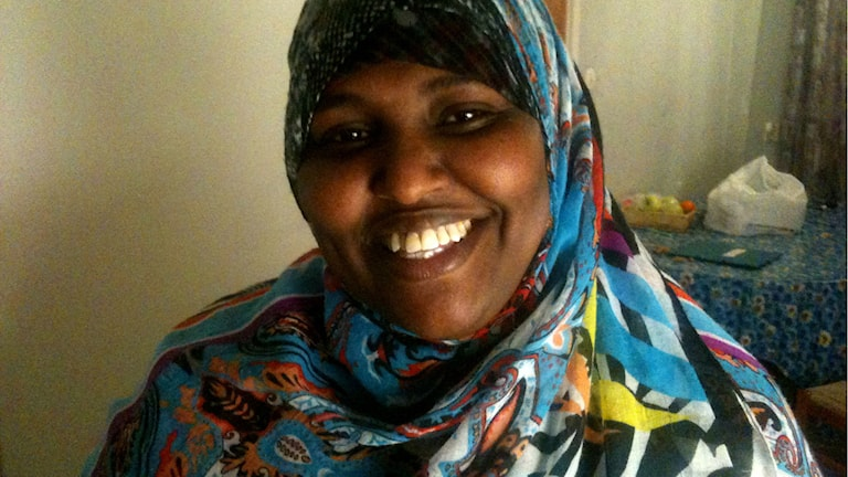 Haweya Jarad är en av dem som har gått kursen om det svenska samhället. Foto: Mona Ismail Jama/Sveriges Radio
