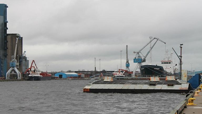 Halmstad hamn. Foto: Henrik MArtinell