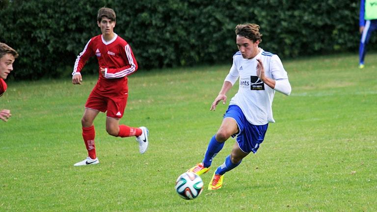 Sead Haksabanovic, yngst i HBK. Foto: Halmstad Bollklubb