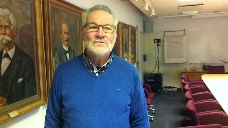 Kent Arne Andersson, centerpartist och ordförande i Barn och ungdomsnämnden i Laholms kommun. Foto Muhamed Ferhatovic SR Halland.
