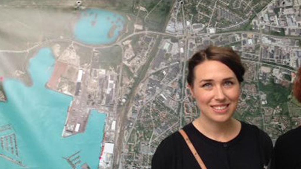 Emelie Göransson är projektsamordnare. Foto: Sveriges Radio