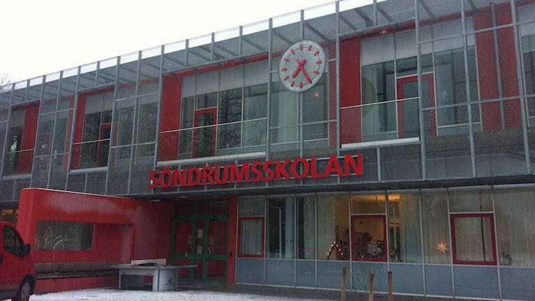 Söndrumsskolan i Halmstad. Foto: Muhamed Ferhatovic SR Halland.