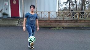 Hejran Shamal är helsåld på fotboll.