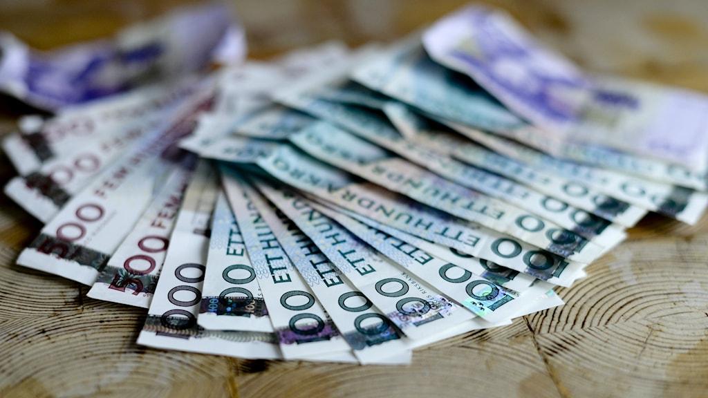 En bankman i norra Halland skapade låtsaskunder i bankens system. FOTO: Pontus Lundahl/TT