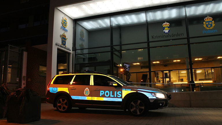 Polishuset i Halmstad. Foto: Henrik Martinell / Sveriges Radio
