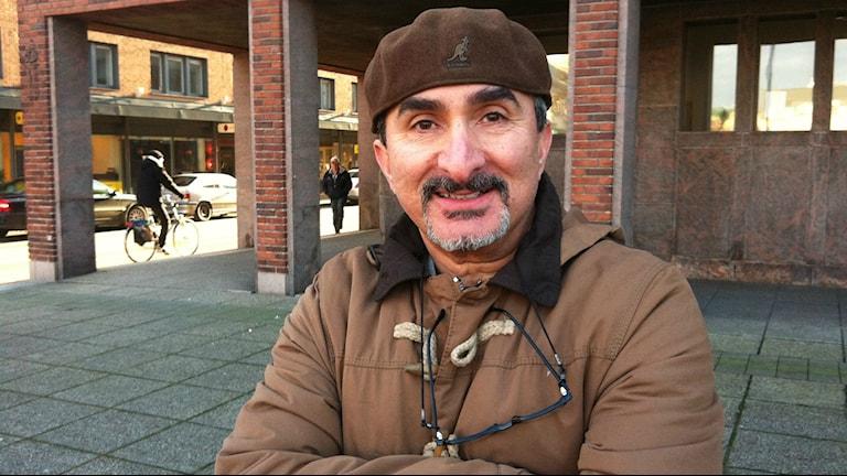 Amir Kaderland, projektledare för Salut i Halmstad. Foto: M. Ferhatovic SR Halland.