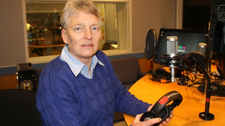 Susanne Erlandsson, ordförande i IS Halmia. Foto: Sveriges Radio.