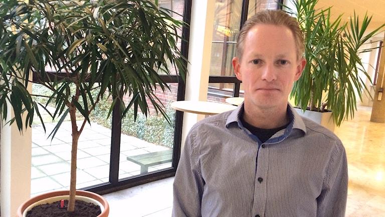 Peter Ljungman, verksamhetscontroller på stadskontoret i Halmstad.