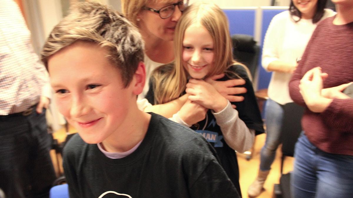 Apelskolan vann andra semifinalen. Foto: Sveriges Radio