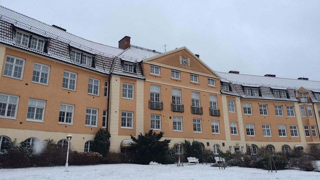 Spenshults sjukhus. Foto: Mattias Bolin/Sveriges Radio