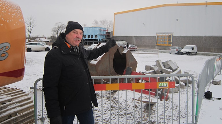Sia glass vd Rolf Frid. Foto: Sveriges Radio