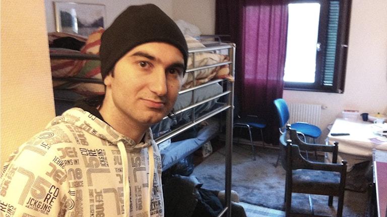Ibrahim Kurdi fick beskedet att han ska flytta från Halmstad. Foto: Ferhatovic SR Halland