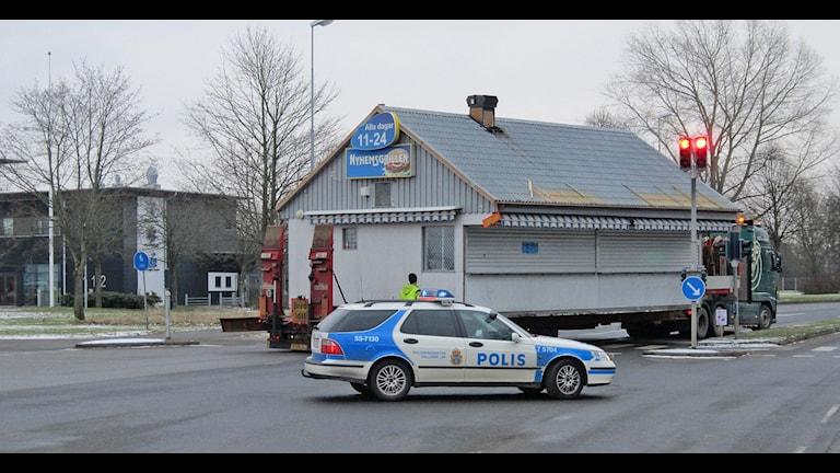 Ring så kommer vi... foto: Göran Frost P4 Halland