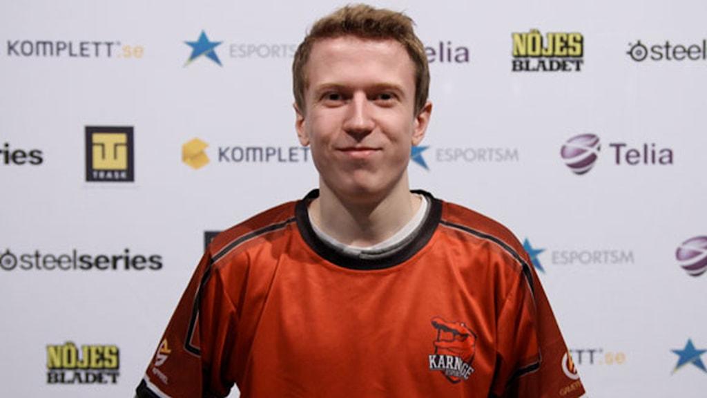 """Christoffer """"Namshar"""" Kolmodin är en av Sveriges bästa spelare i StarCraft II. Foto: Privat"""