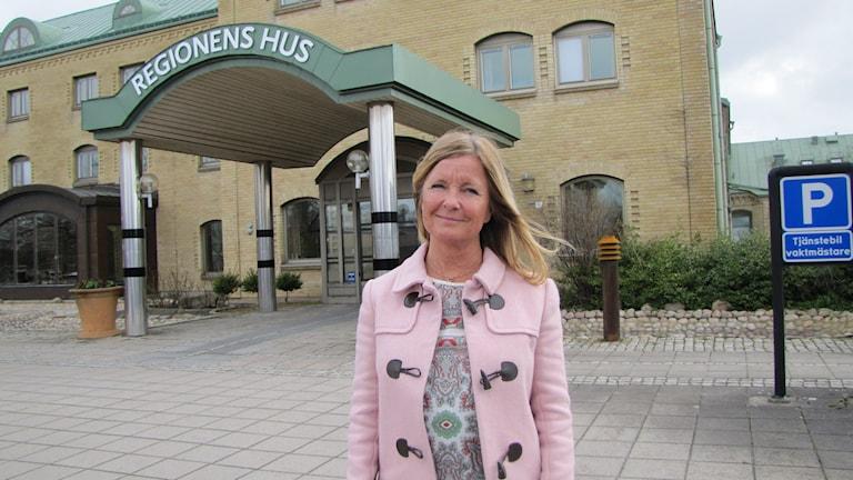 Ulrika Jörgensen, ordförande gemensamma nämnden för hemsjukvård.