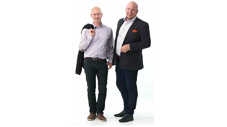 Christian Hertz och Daniel Bergqvist. Foto: Mattias Ermanbrix