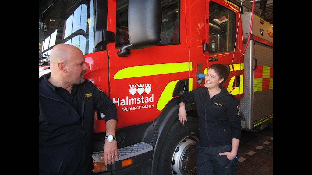 Ungprojekt på räddningstjänsten i Halmstad