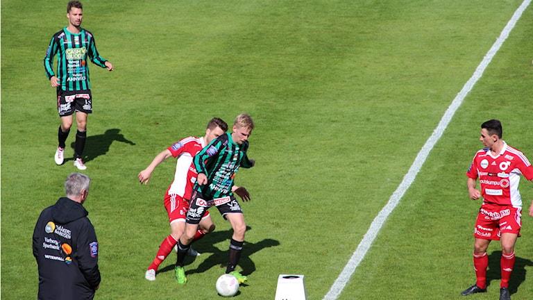 Varbergs Bois spelade 0-0 mot Degerfors hemma. Foto: Per Söderhjelm
