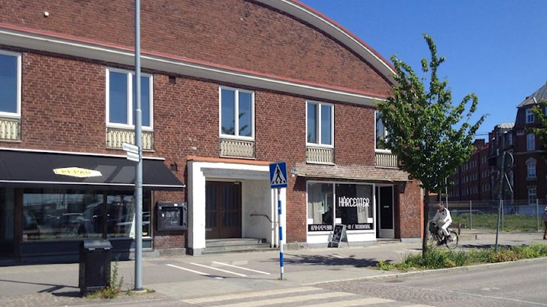 Halmstad moské. Foto: Muhamed Ferhatovic/Sveriges Radio.