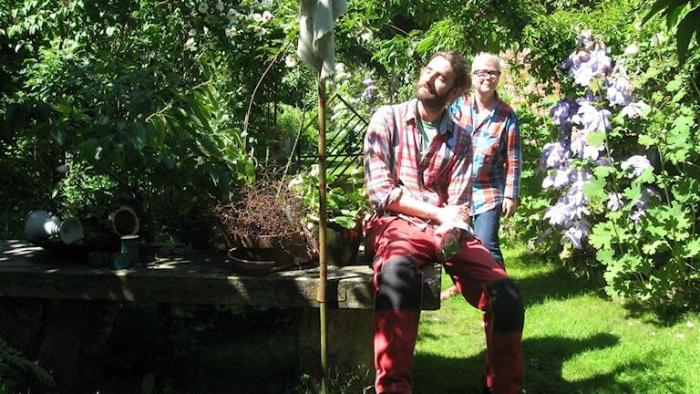 Stilla dagar i Ysby med Peter Bengtsson och Maggan Ek. Foto: Ann Journéus /Sveriges Radio