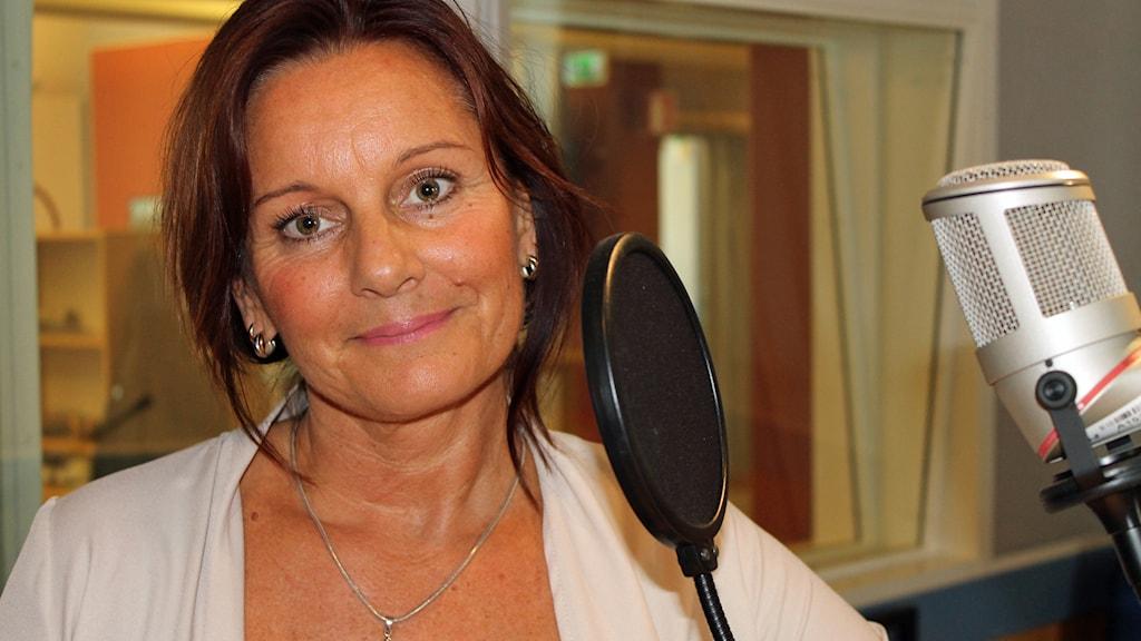 Anneli Vigh från Halmstad fick inkontinensproblem efter att ha fött barn. Foto: Therese/Wahlgren/Sveriges Radio