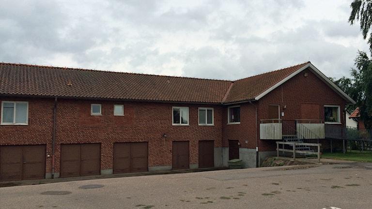 Almgården i Getinge är ett äldreboede som riskerar nedläggning. Foto: Magnus Hagström/Sveriges Radio.
