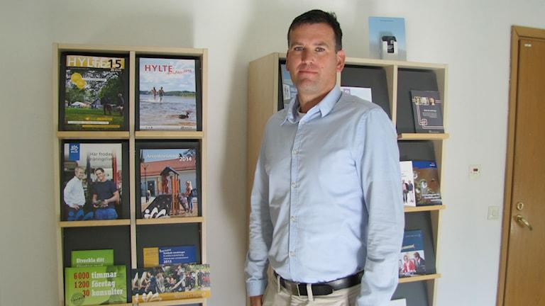 Ronny Löfquist blev upprörd över inlägget om drunknade Alan Kurdis
