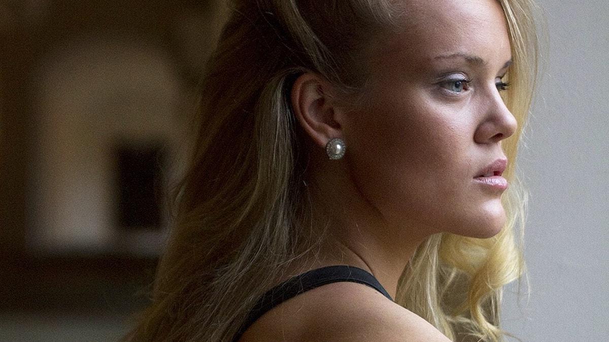 Amanda Winberg från Kungsbacka tävlar i Idol 2015. Foto: Pressbild