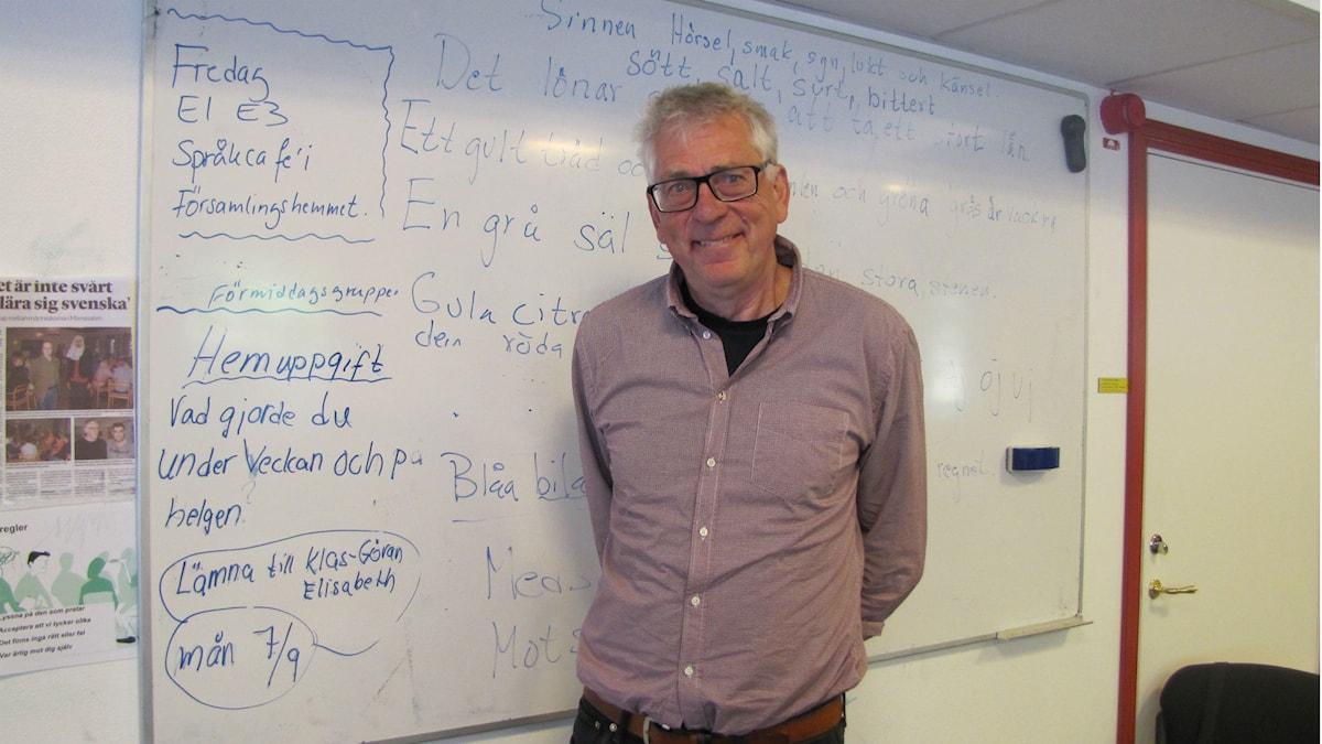 Claes-Göran Östlund är initiativtagare till den nya företagskursen.
