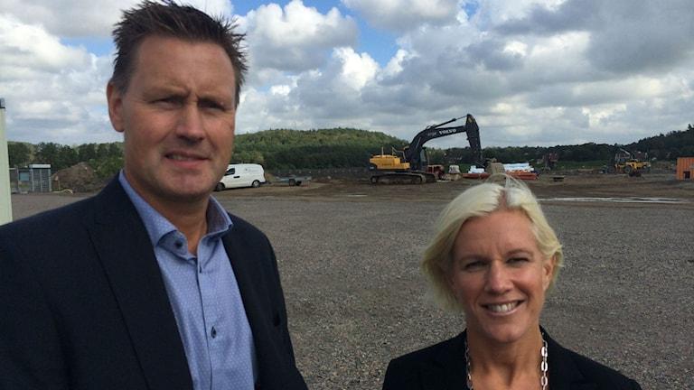 Elisabeth Telne ska bli rektor på den nya skolan i Trönninge. Foto: Magnus Hagström