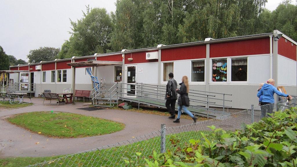 Alléns förskola. Foto: Göran Frost/Sveriges Radio