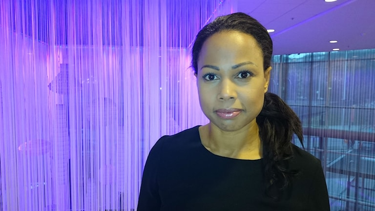 Demokratiminister Alice Bah Kuhnke. Foto: Jonna Burén/Sveriges Radio
