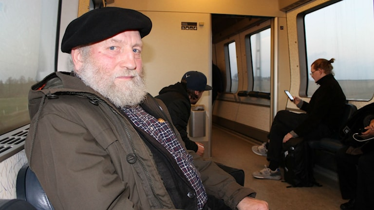 Tågresenären Martin Bedorf var med om en gränskontroll på Öresundståget i Hyllie. Foto: Elin Logara/Sveriges Radio