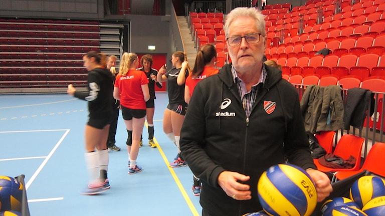 Leif Nilsson, ordförande i Hylte/Halmstad. Foto: Göran Frost/Sveriges Radio