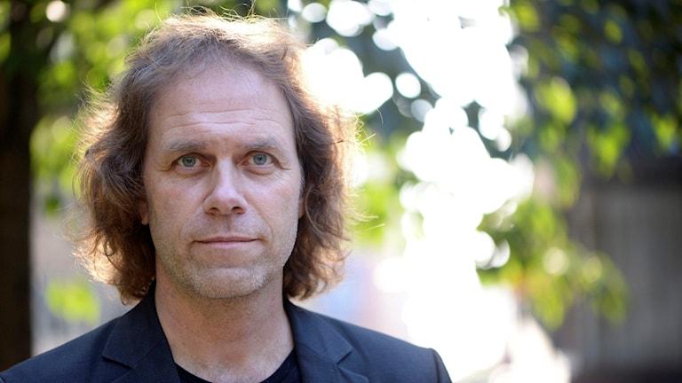 Efter 20 år som tv-meteorolog sadlade Pär Holmgren om till klimatdebattör. Foto: Fredrik Sandberg/TT.