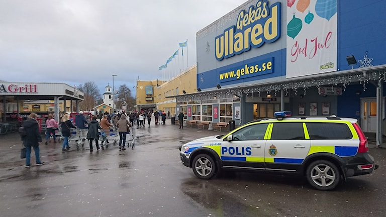 Gekås i Ullared var ett av en rad företag som den 28-årige mannen slog till mot.