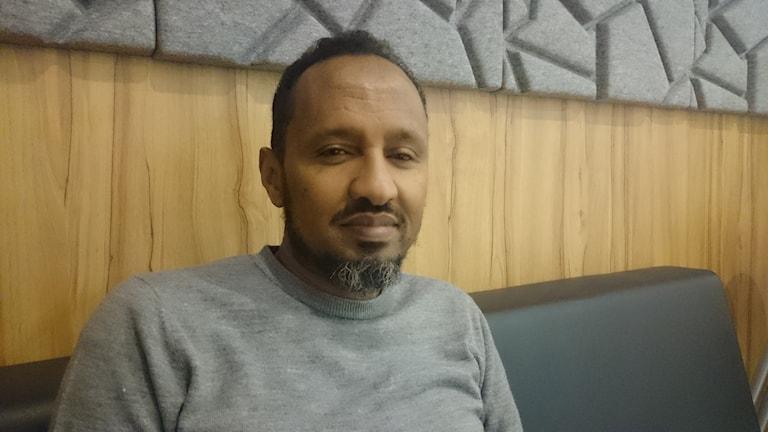 Ahmed Hussein. Foto: Jonna Burén / Sveriges Radio