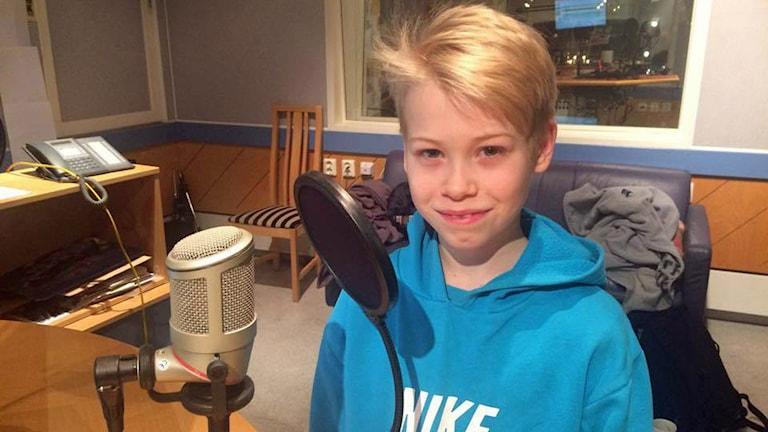Ludvig Berggren har kört motocross sedan han var fem år gammal. Foto: Sveriges Radio.