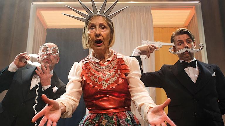 Teater Hallands föreställning Julefrid. Foto: Pressbild.